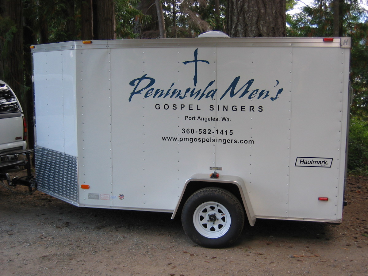 PMGS equipment trailer